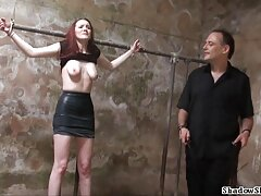 Pornstar اوا Agelina بیدمشک خود را لعنتی توسط بی بهترین سایت فیلمهای سکسی بی سی